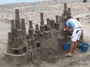 Sand sculptures Los Cristianos