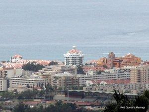 Tenerife - view Las Americas