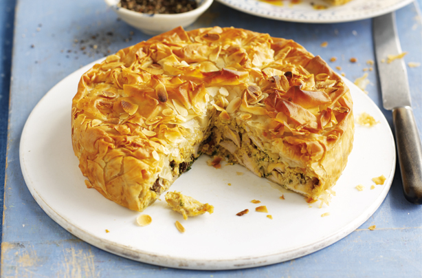 Moroccan-chicken-pie