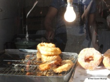 Doughnuts and fried egg (2)